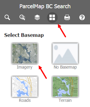 Adjust Map Layers and Basemaps | LTSA Help